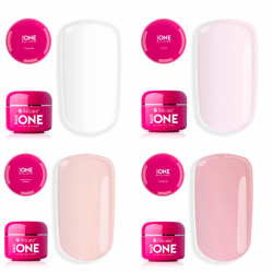 Base one - Builder / byggel 15g - 17 olika - Silcare Thick clear