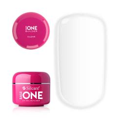 Base one - Builder - Clear 30g UV-gel - Silcare Transparent