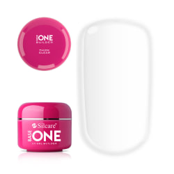 Base one - Builder - Thick Clear 30g UV-gel - Silcare Transparent