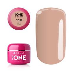 Base one - Color - 80´s pink 5g UV-gel Rosa
