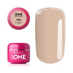 Base one - Color - Balerina pink 5g UV-gel Rosa