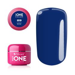 Base one - Color - Night blue 5g UV-gel Blå