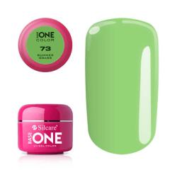 Base one - Color - Summer grass 5g UV-gel Grön