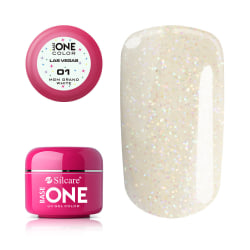Base one - Las vegas - Grand white 5g UV-gel Vit