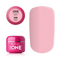 Base one - Matt - Cream pink 5g UV-gel Rosa