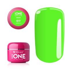 Base one - Neon - Green 5g UV-gel Grön