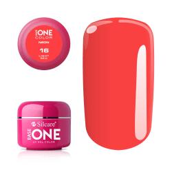 Base one - Neon - Light red 5g UV-gel Röd