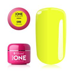 Base one - Neon - Yellow 5g UV-gel Gul