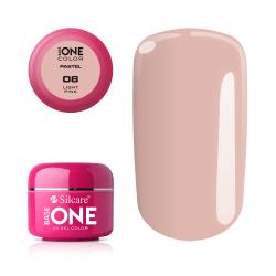 Base one - Pastel - Light pink 5g UV-gel Rosa