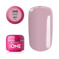 Base one - Pastel - Pink 5g UV-gel Rosa