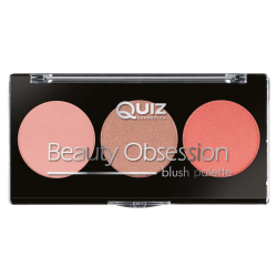 Blush palette - Beauty obsession - Quiz cosmetics