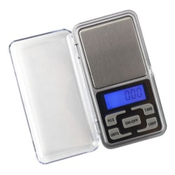 Digitalvåg i fick format, Pocket Scale, Smyckes våg 0,01 - 300g Silver