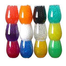 Färgade vattenpärlor - 6 gram Transparent
