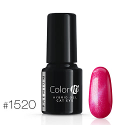 Gellack - Color IT - Premium - Cat Eye - *1520 UV-gel/LED Cerise