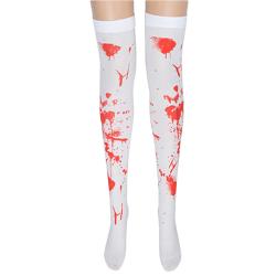 Halloween - Långa blodiga strumpor