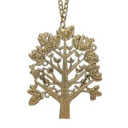 Halsband Träd brons vintage Bronze