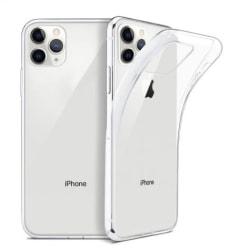 iPhone 11 PRO silikonskal - Transparent Transparent