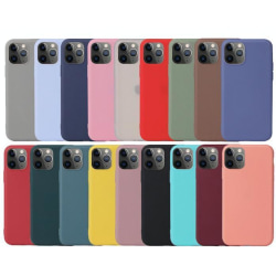 iPhone 12 / 12 Pro - Matt TPU case Svart