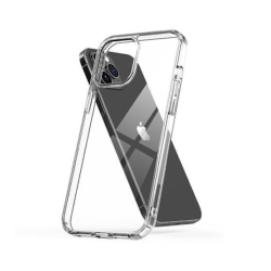 iPhone 12 Mini - Silikonskal TPU - Transparent Transparent