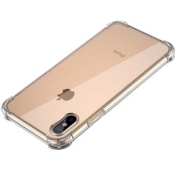 iPhone X/Xs silikon Shockproof Skal extra stöt tåligt Transparent