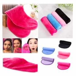 Make Up Eraser - Microfiber Facial Cloth Towel, sminkborttagning Ljusrosa