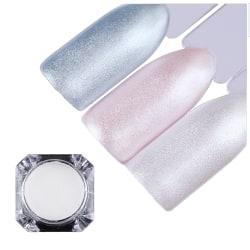 Pearl mermaid powder white - Pärlpigment  White