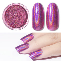 Rosa / lila mirror pigment - Chrome mirror powder