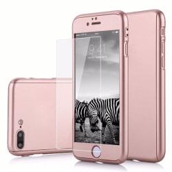 Exklusivt 360° iPhone 6s Plus fram/baksida+skärmskydd Roséguld Roséguld