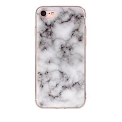 iPhone 6/6s Plus Marmor Skal Premium TPU Vit Vit