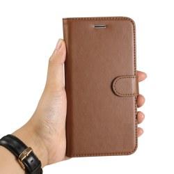 Plånboksfodral iPhone 7 Plus/8 Plus  | Läder | 3 kort + ID Brun Brun