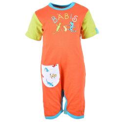 Bäbis Pyjamas Orange 62 (2-4 Mån)