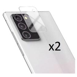 2-Pack 3D Samsung Note20 Bakkamera skärmskydd.