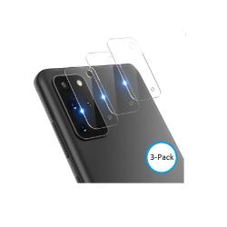 3-Pack 3D Samsung S20 Ultra Bakkamera skärmskydd. S20 Ultra
