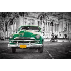 Fototapet Kuba veteranbil 300x223cm