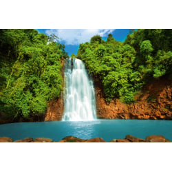 Mini fototapet - Tropiskt vattenfall
