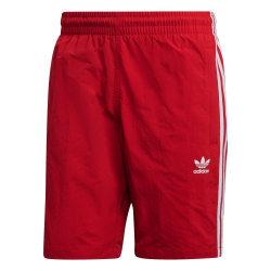 Adidas 3 Stripes Swim Röda 176 - 181 cm/L