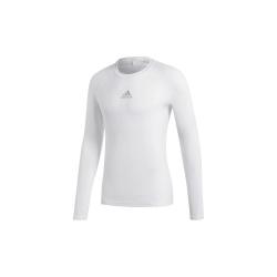 Adidas Alphaskin Sport LS Vit 164 - 169 cm/S