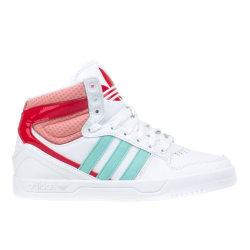 Adidas Court Attitude K Rosa,Vit 38 2/3
