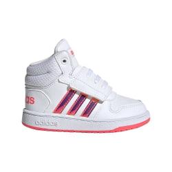 Adidas Hoops Mid 20 I Vit,Röda 24