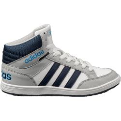Adidas Hoops Mid K Vit,Grenade,Gråa 29