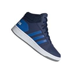 Adidas JR Hoops Mid 20 K Grenade,Blå 38