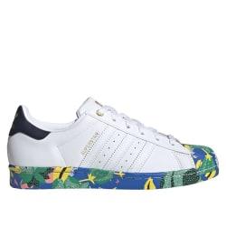 Adidas Superstar W Vit,Gröna,Blå 37 1/3