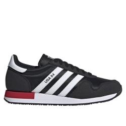 Adidas Usa 84 Vit,Svarta 42 2/3