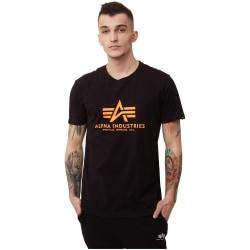 Alpha Industries Basic Svarta,Orange 183 - 187 cm/L