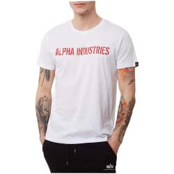 Alpha Industries Rbf Moto Tshirt Vit 188 - 192 cm/XL
