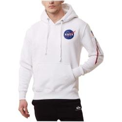 Alpha Industries Space Shuttle Hoody Vit 178 - 182 cm/M