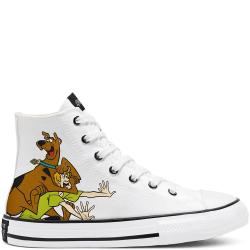 Converse X Scoobydoo Chuck Taylor All Star High Vit,Bruna 33