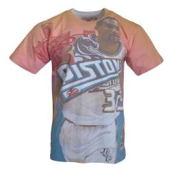 Mitchell & Ness City Pride MN Detroit Pistons Grant Hill Nba Blå,Orange 173 - 177 cm/S