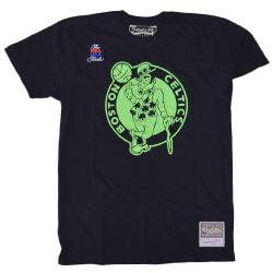 Mitchell & Ness Nba Boston Celtics Neon Logo Svarta 178 - 182 cm/M