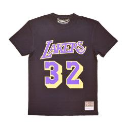 Mitchell & Ness Nba Los Angeles Lakers Magic Johnson Name Number Svarta 193 - 197 cm/XXL